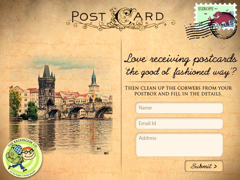 FB Postcard App