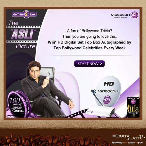 Videocon d2h, The Asli Picture, IIFA Awards, IIFA Awards 2013