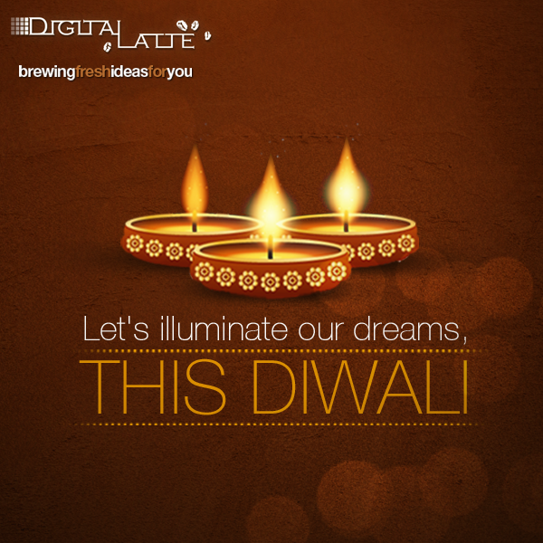 Digital Latte, Digital Marketing Agency, Happy Diwali, Diwali Emailer